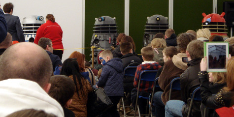 Dalek Invasion of Portsmouth 2013: Dalek Panel.