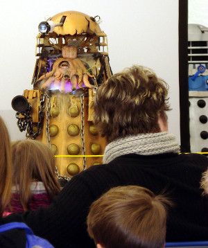 Dalek Invasion of Portsmouth 2013: Open Dalek.