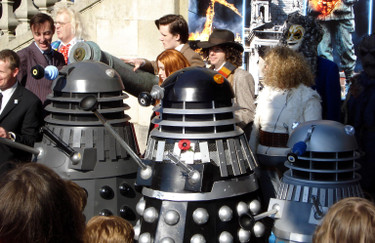 Dalek Invasion of Portsmouth 2013: Line up 1.