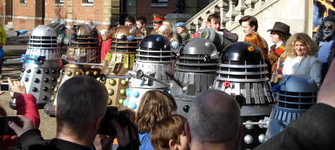 Dalek Invasion of Portsmouth 2013: Line up 2.