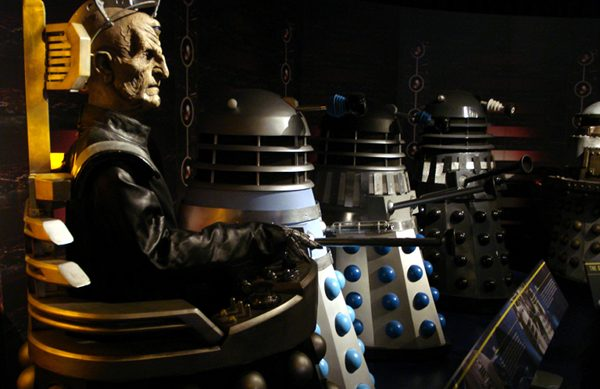 The Doctor Who Experience - Davros and his minions