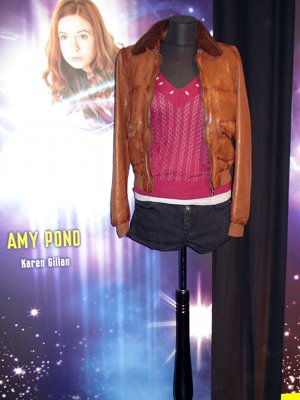 The Doctor Who Experience - Amy Pond's sweet smelling clothes