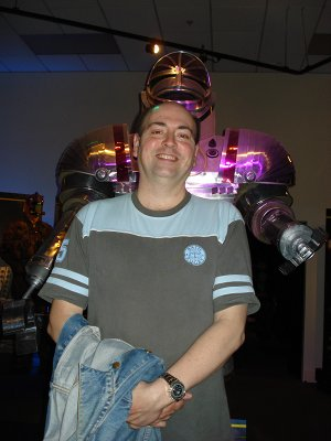 The Doctor Who Experience - Andy and the giant Robot