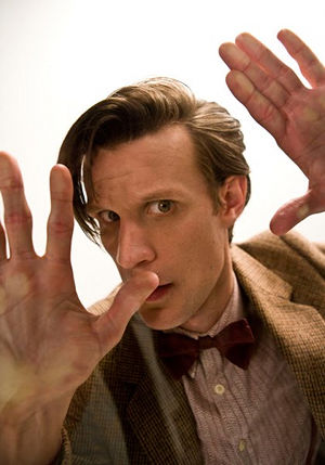 Doctor Who Live - Matt Smith on the big screen as The Doctor