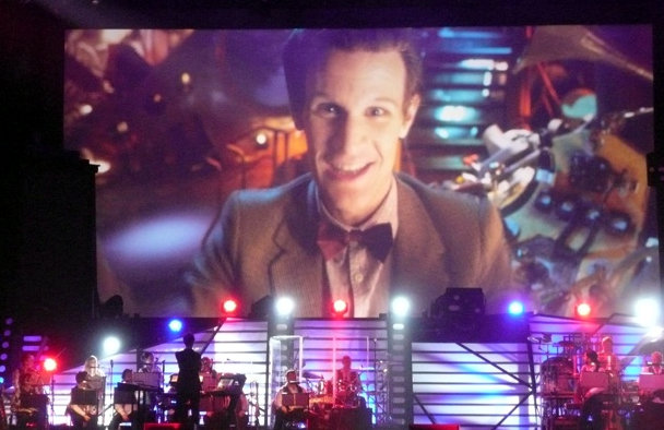 Doctor Who Live - The Doctor on the big screen