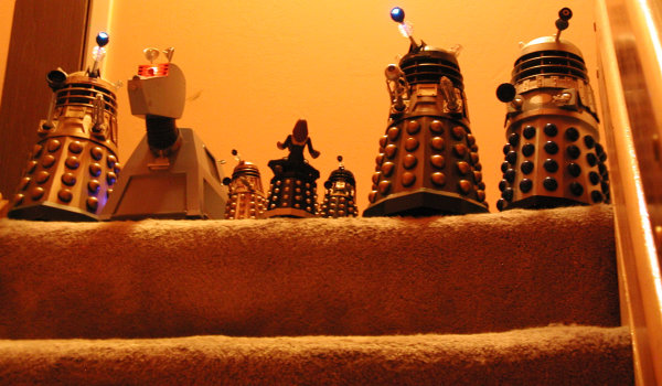 Dalek Vs. Dalek - Top of the stairs