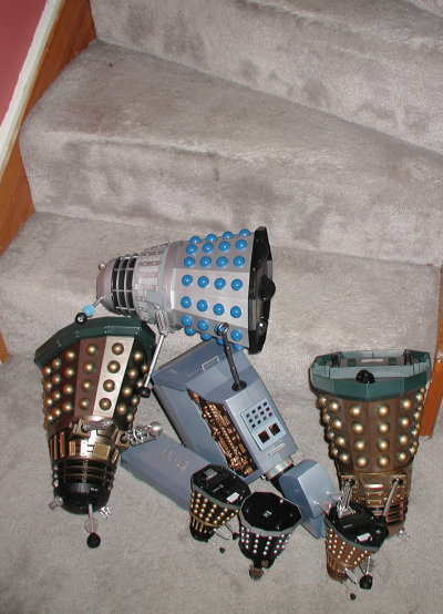 Dalek Vs. Dalek - Stair Crash!
