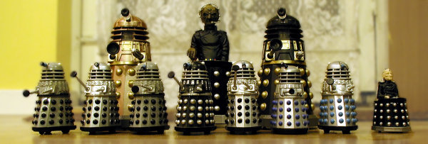Dalek Vs. Dalek - The Dalek Spectators