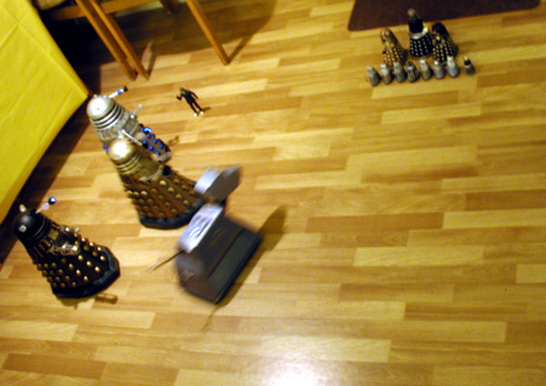 Dalek Vs. Dalek - The sprint starts