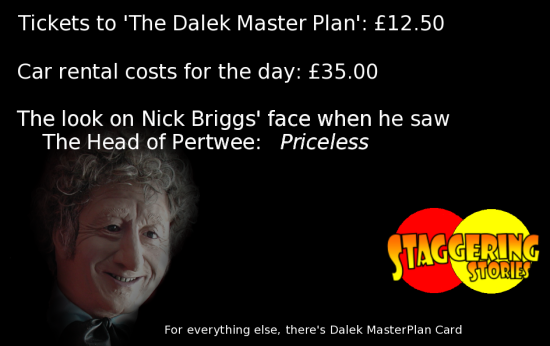 The Dalek MasterPlan Card