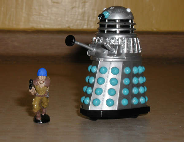 Mr Dalek meeting another toy