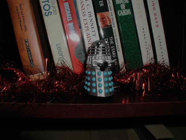 Mr. Dalek is alone again
