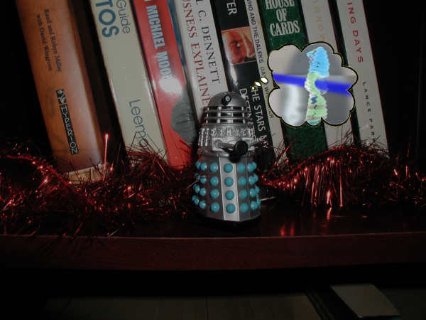 Mr. Dalek reminisces about exterminating Daphne