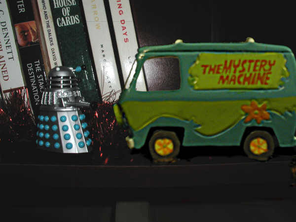 Mr. Dalek finds the Mystery Machine