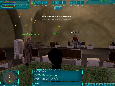 Star Wars Galaxies: Boogying with Huff and Bibblethruster.