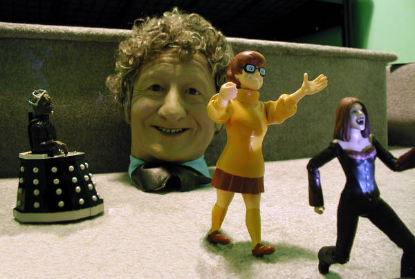 The Doctor's Head goes for a Roll - The Dastardly Davros