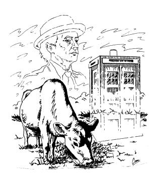 The Cow and TARDIS