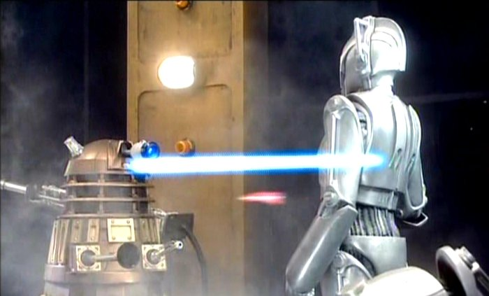 Army of Ghosts: Daleks vs Cybermen
